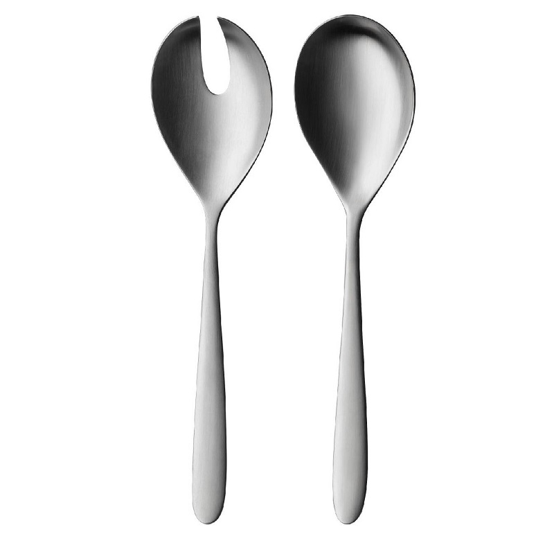 1 PC SALAD SERVERS SILK MATT Malta, 						VINCI Malta Malta