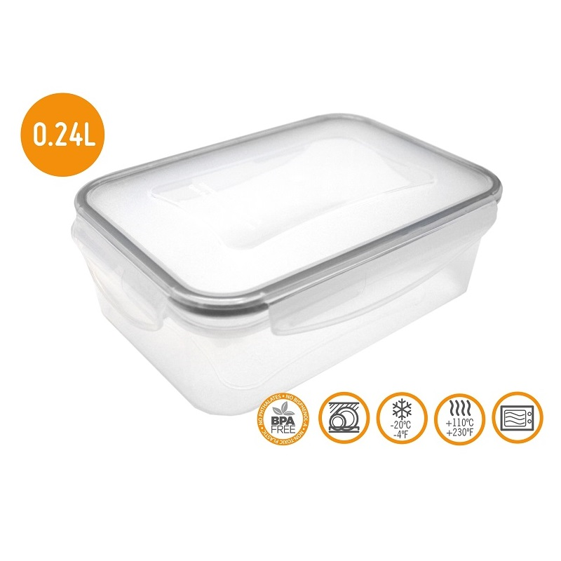 HERMETIC FOOD CONTAINER 0.24ML - FIH 243 Malta, 						VINCI Malta Malta