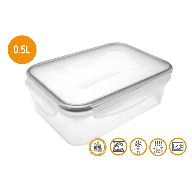HERMETIC FOOD CONTAINER 0.50ML - FIH 244 Malta, 						VINCI Malta Malta