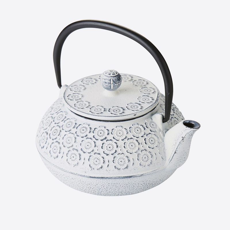 TEAPOT CAST IRON WITH FILTER CREAM 850ML Malta, 						VINCI Malta Malta
